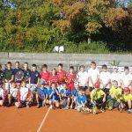 Gruppenfoto Bezirksfinale U8 u. U10