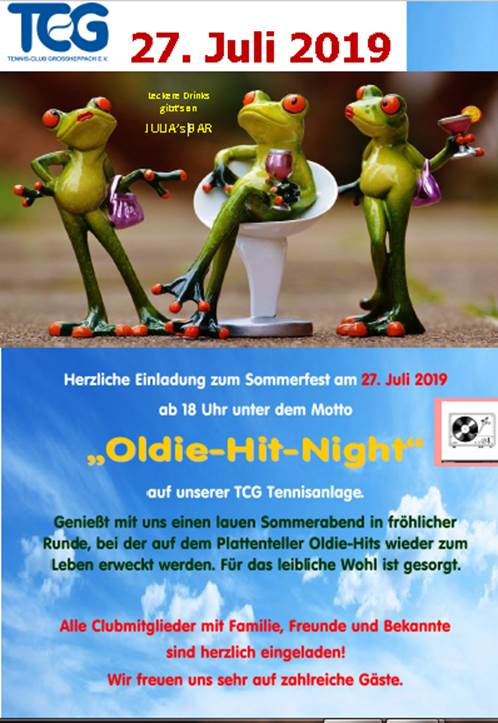 Rückblick Sommerfest 2019