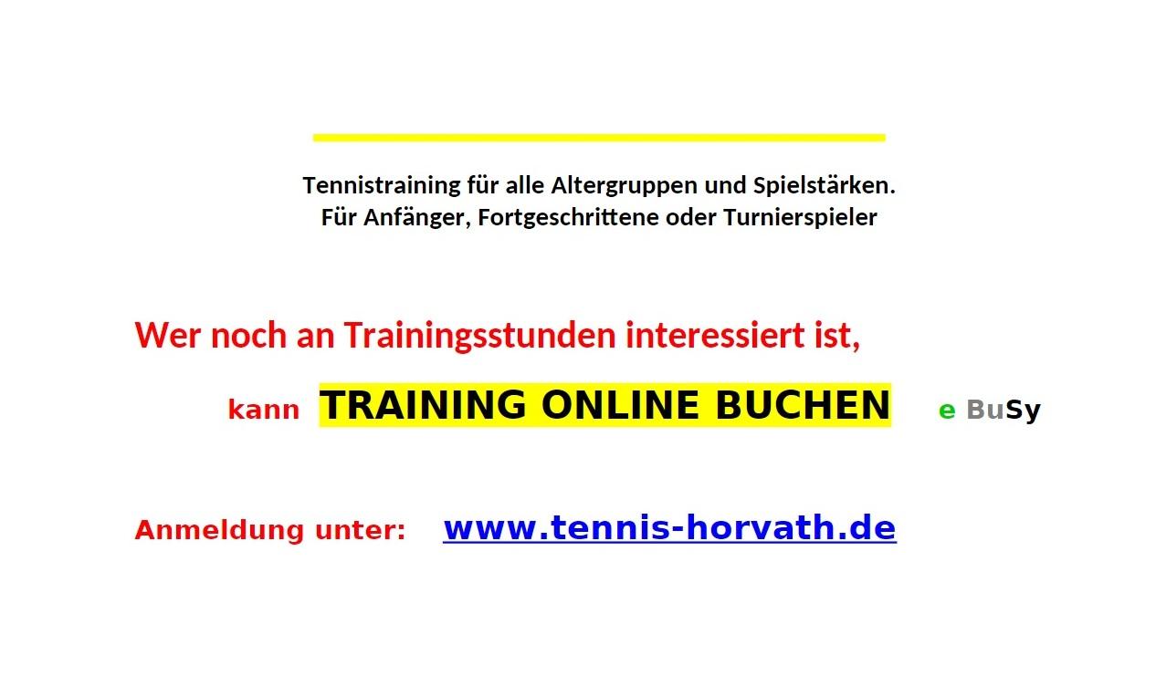 Training online buchen