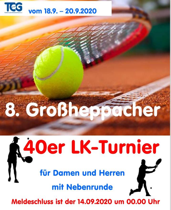 40er Turnier 18. – 20.09.2020