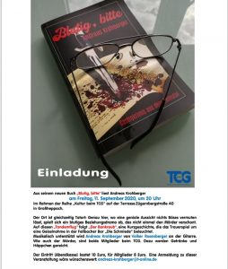 Buchlesung 11.09.2020