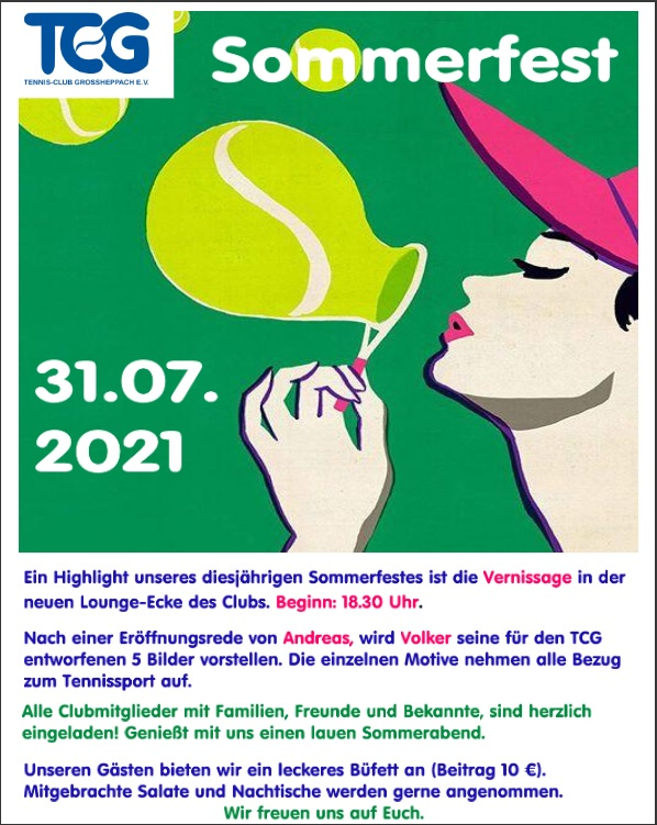 Sommerfest 31.07.2021