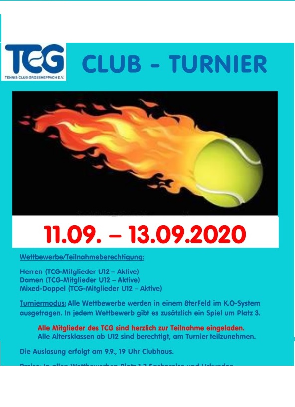 Rückblick Clubturnier 2020